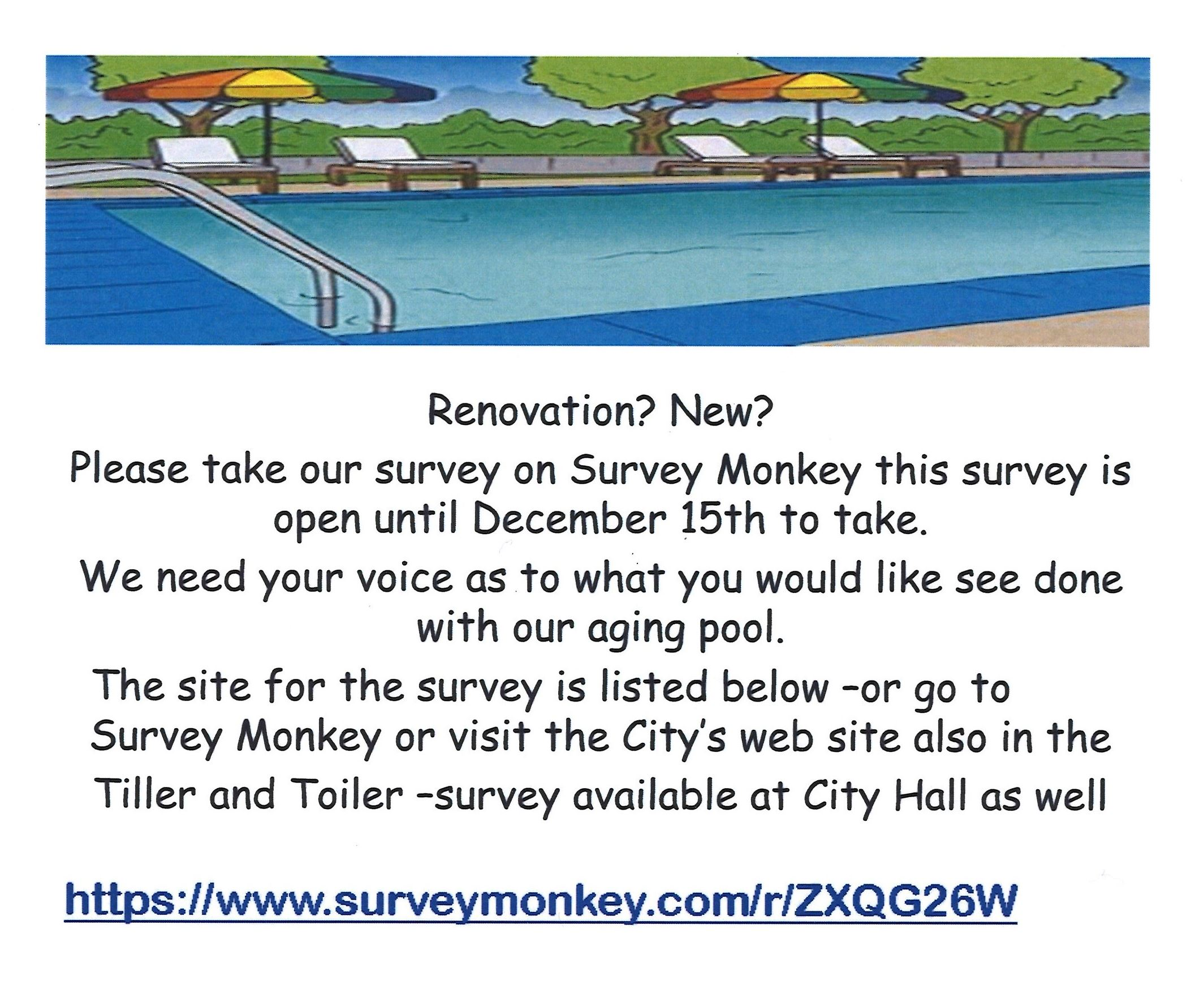 pool survey