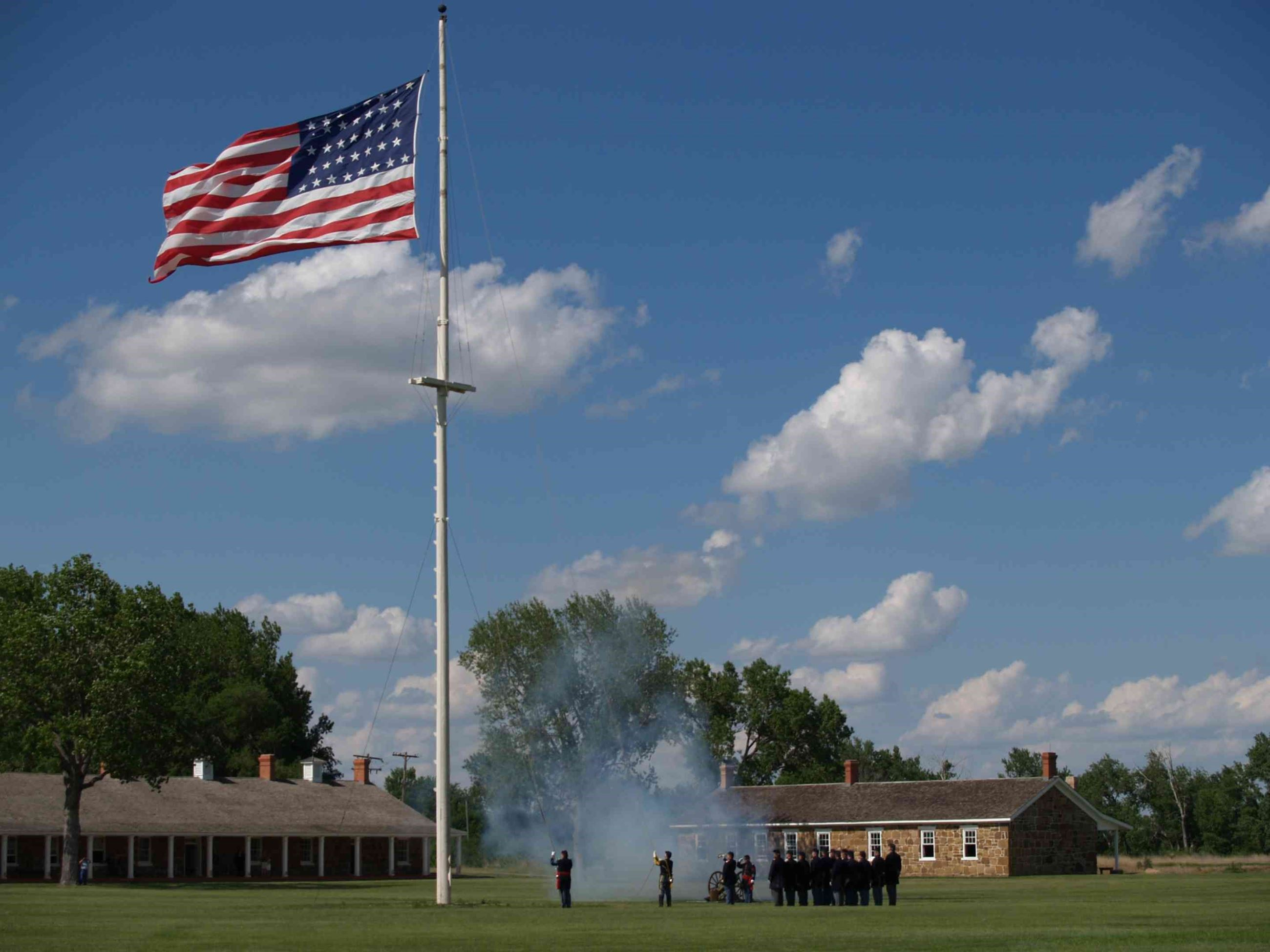 Fort Larned National Historic Site Opens in new window